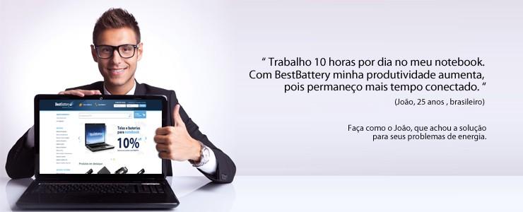 João aprova BestBattery!